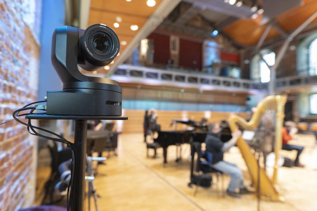 London Symphony Orchestra selects Panasonic 4K PTZ cameras for remote performances