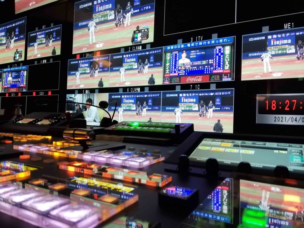 Japan's J SPORTS selects LiveU's multi-camera remote production solution for baseball games