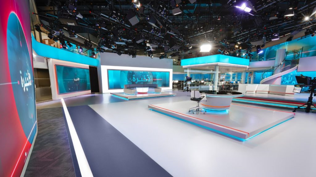 ATG Danmon designs newsroom and edit suites for Alaraby Television