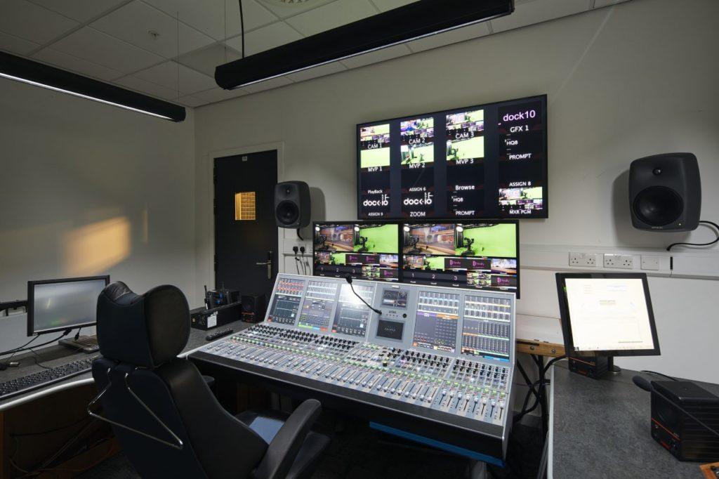 Calrec's Artemis audio console chosen for dock10's new remote gallery