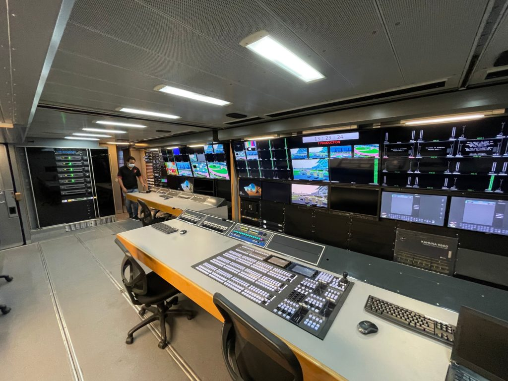 7 Production calls on TSL to provide complete control for new 4K OB truck