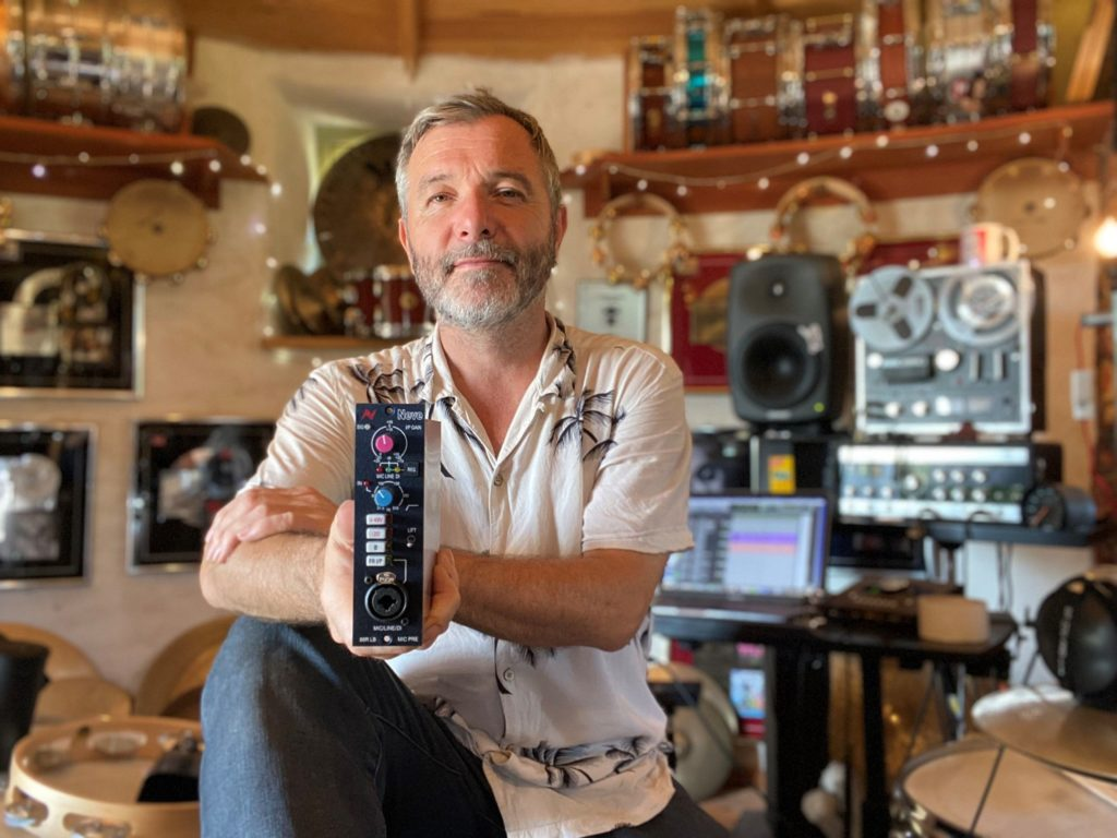 Acclaimed drummer Ash Soan uses Neve 88RLB preamps to capture the sound of an iconic Neve Desk