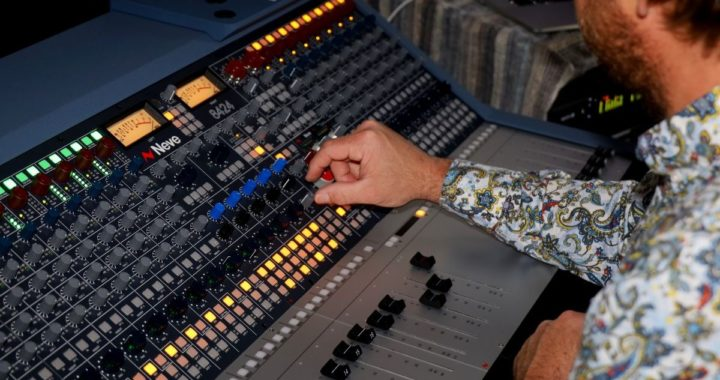 Producer Brian Alston upgrades his studio with a Neve 8424 console