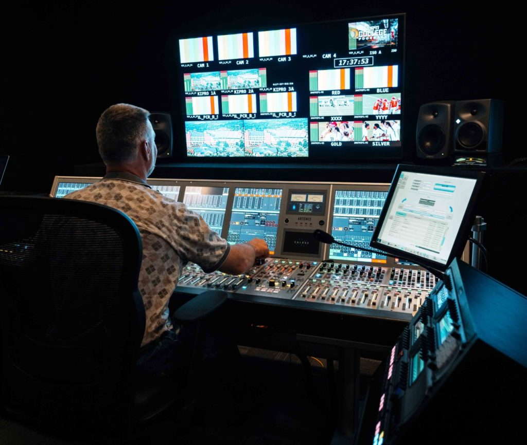 Liberty University expands roster of Calrec technology with trio of new consoles