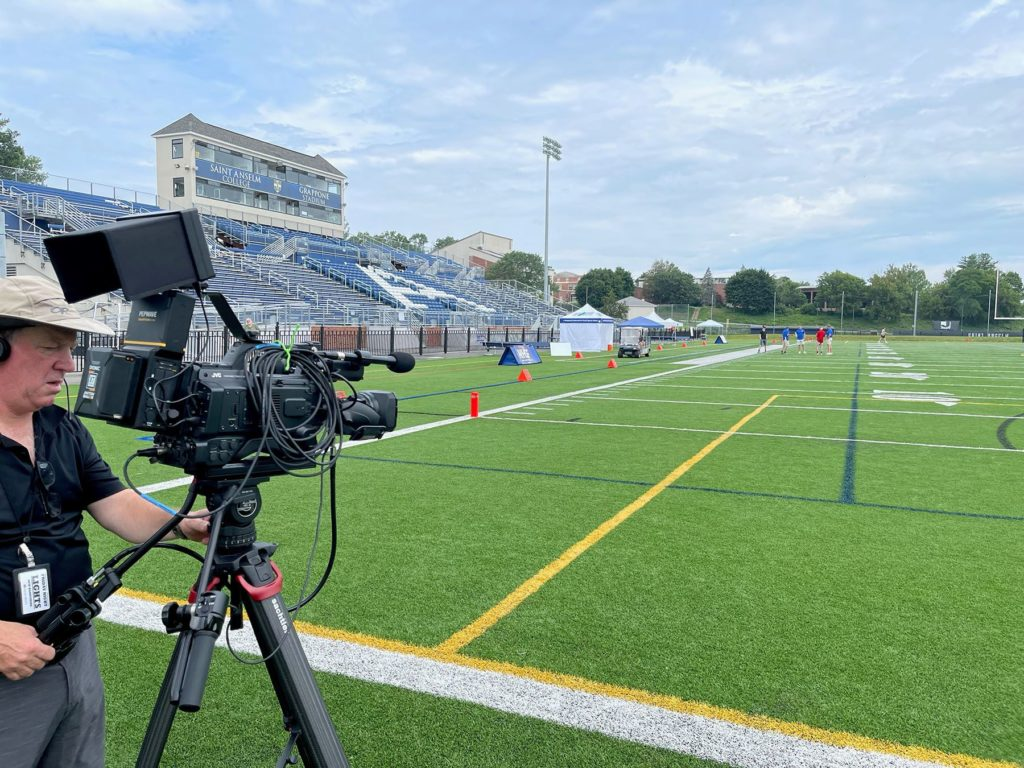 JVC CONNECTED CAM USED FOR FRIDAY NIGHT LIGHTS NEW HAMPSHIRE COVERAGE