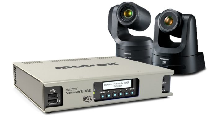 Matrox and Panasonic partner for new 4K REMI workflows