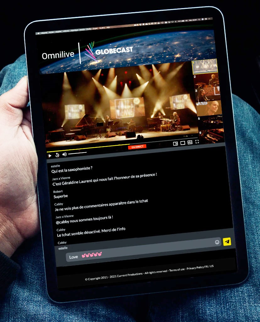 Omnilive partners with Globecast to offer a unique live streaming user experience