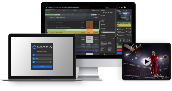 Evertz launches advanced streaming and playout SaaS service