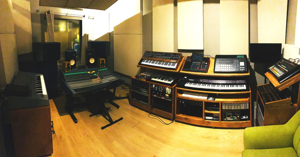 Infinite Power Studios upgrades with a Neve 8424 console