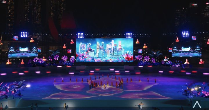 Pixotope brings Broadcast AR technology to the 2021 Singapore National Day Parade