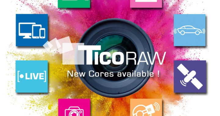 intoPIX extends its range of TICO-RAW IP-cores